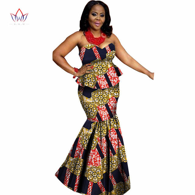 Traditional african clothing Skirt set dashiki african skirts and tops women set clothing high quality