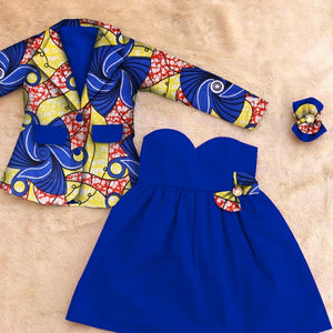 women african clothing Summer 2018 Dashiki long sleeve african clothing traditional 6xl african skirt suits two piece none WYT28