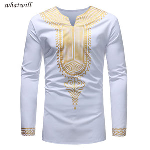 New fashion mens african dresses long dashiki t-shirts hip hop african clothes fitness africa clothing casual robe africaine