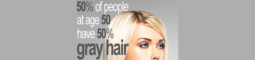 Graying Hair Facts and Myths
