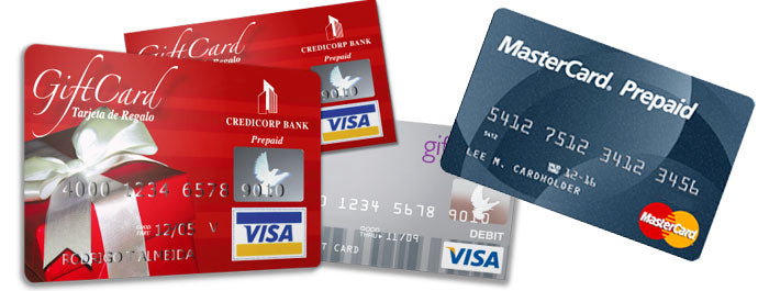 A Note On Prepaid Cards / Gift Cards