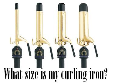 What size is my curling iron