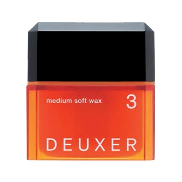 DEUXER 3 Medium Soft Wax 80g