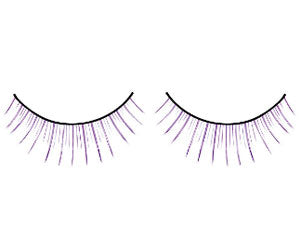 Baci Lingerie Magic Colors Purple Deluxe Eyelashes, #531