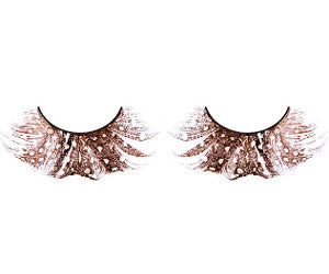 Baci Lingerie Paradise Dreams Brown Feather Eyelashes, #613