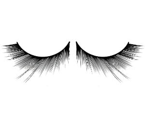 Baci Lingerie Natural Look Black Deluxe Eyelashes, #654