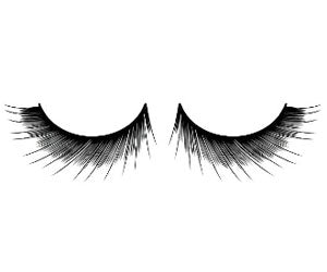Baci Lingerie Natural Look Black Deluxe Eyelashes, #684