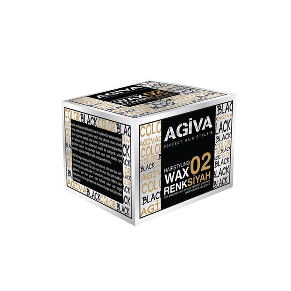 Agiva Color Wax  02 Black