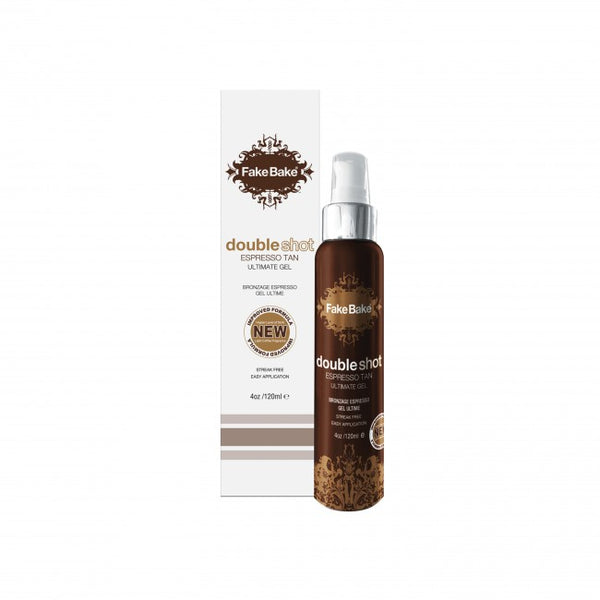 Fake Bake Double Shot Espresso Tan Ultimate Gel 4oz