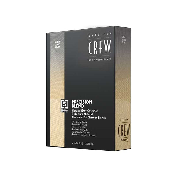 American Crew Precision Blend Natural Gray Coverage 3x40ml