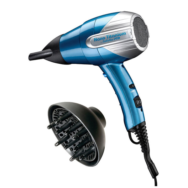 Babyliss Pro Ionic and Nano Titanium Compact Hair Dryer BNT5550C