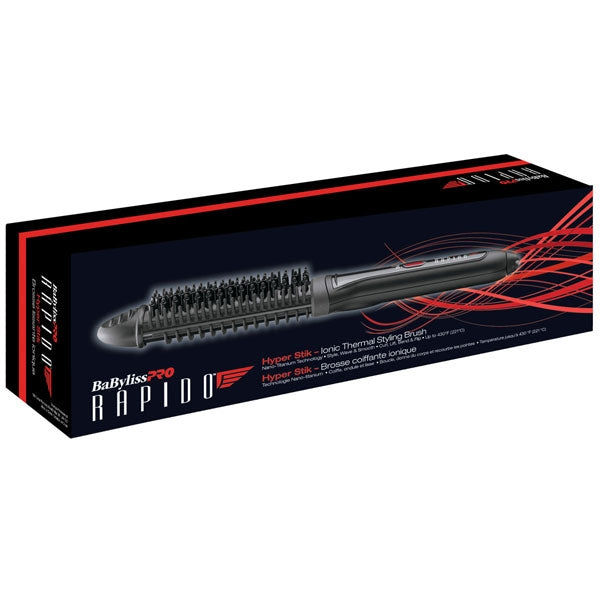 BaByliss Pro Rapido Hyper Stik Ionic Thermal Styling Brush