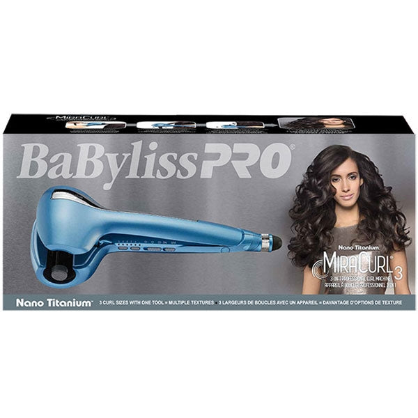BaBylissPro MiraCurl3 3-in-1 Professional Curl Machine