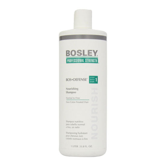 Bosley BOS Defense Nourishing Shampoo for Non-Color Treated Hair