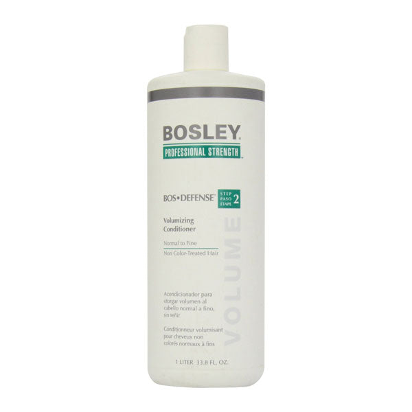 Bosley BOS Defense Volumizing Conditioner for Non-Color Treated Hair