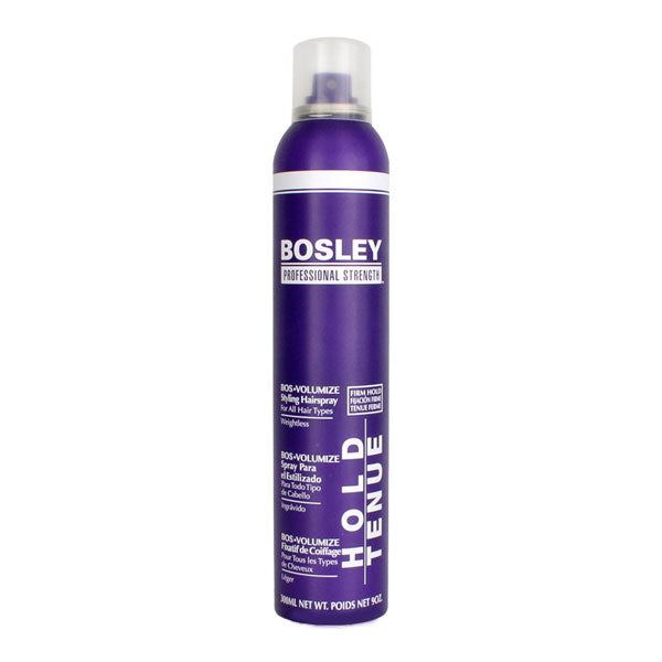 Bosley BOS-VOLUMIZE Styling Hairspray 300ml