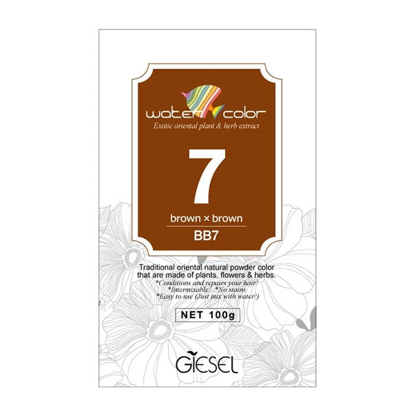 Giesel Water Color Natural Hair Dye 100g