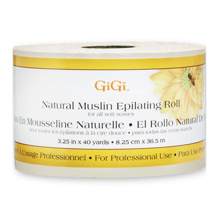 GiGi Natural Muslin Epilating Roll