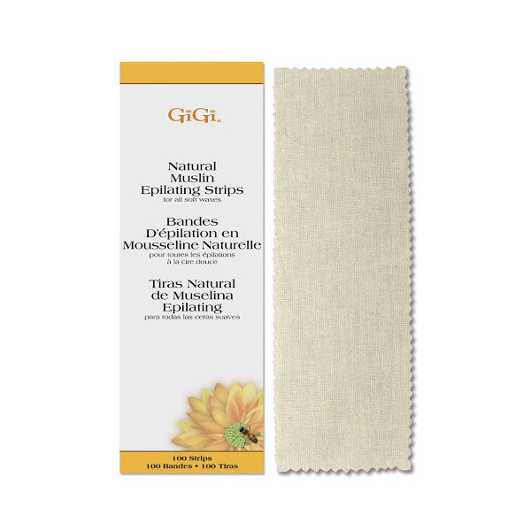 GiGi Natural Muslin Epilating Strips
