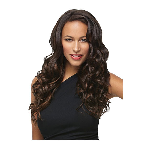 HairDo 18 Inch 8pc Wavy Hair Extension Kit
