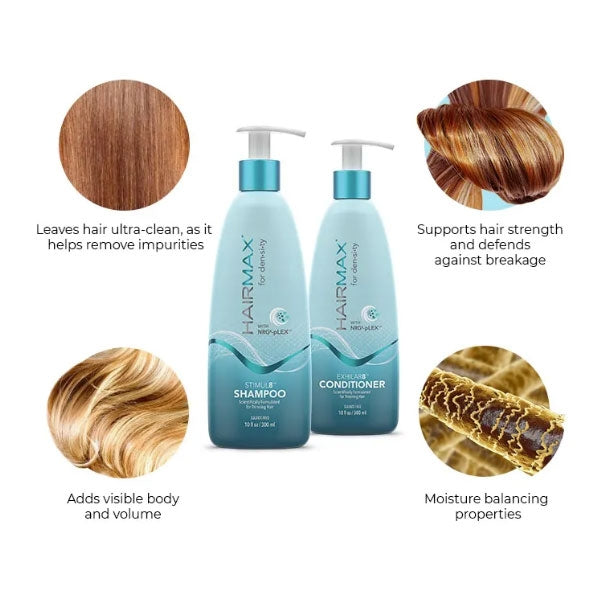 HairMax for density STIMUL8 Shampoo 300ml