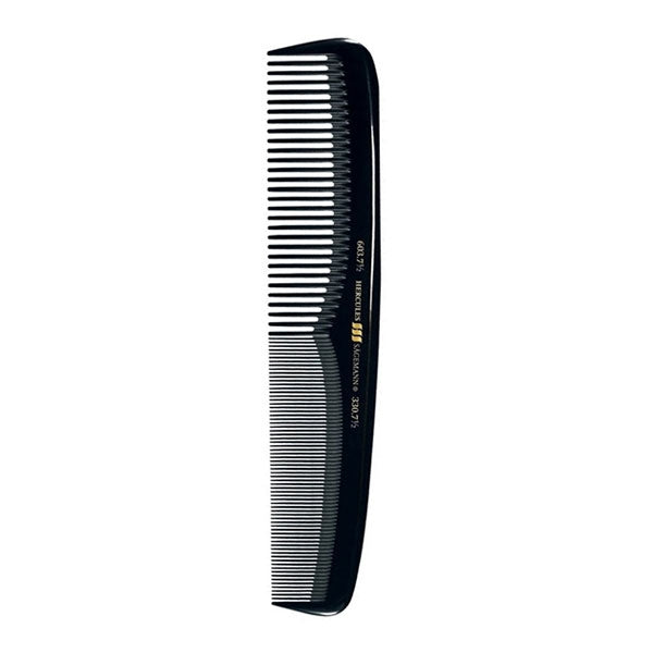"Hercules Hard Rubber Barber 7.5"" Styling Comb HER603C"