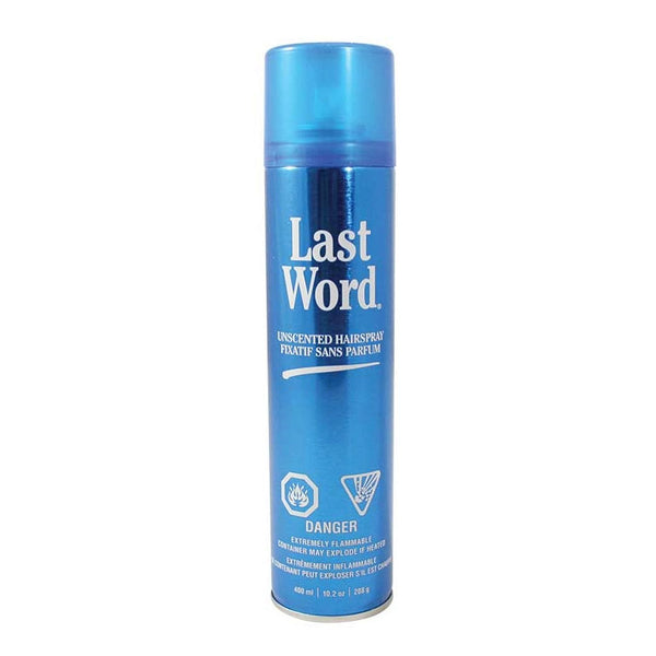 Last Word Unscented Hairspray 400ml