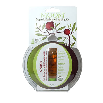 MOOM Organic Eyebrow Shaping Kit