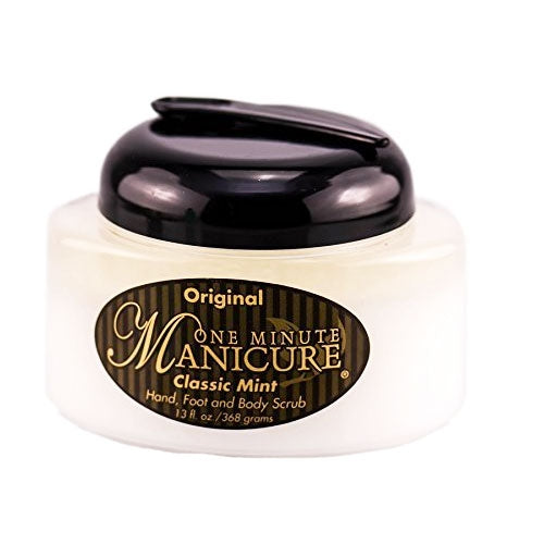 One Minute Manicure Spa Treatment Moisture Scrub, Classic Mint