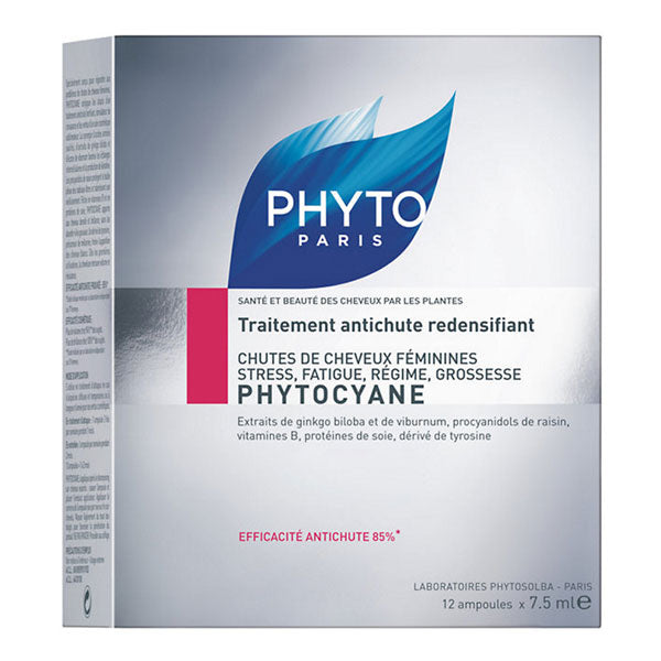 PHYTO Phytocyane Revitalizing Serum for Women 12x7.5ml