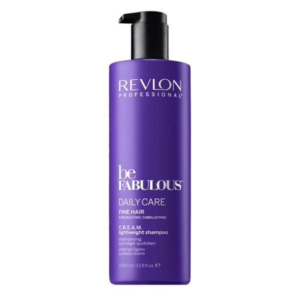 Revlon Be Fabulous Daily Care Fine Hair C.R.E.A.M. Lightweight Shampoo
