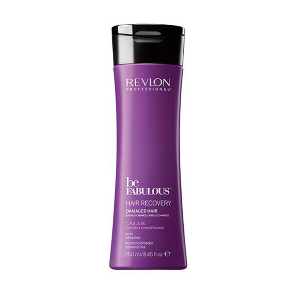 Revlon Be Fabulous Hair Recovery Damaged Hair CREAM Keratin Conditioner 250ml