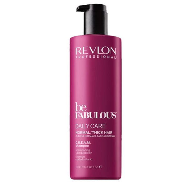 Revlon Be Fabulous Daily Care Normal Thick Hair C.R.E.A.M. Shampoo