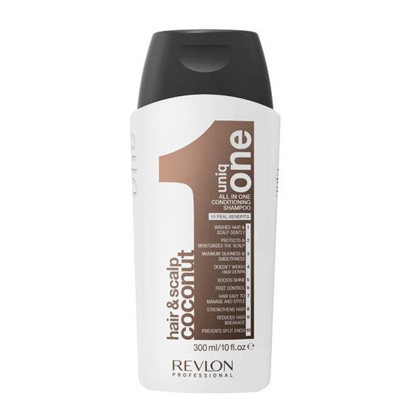 REVLON Professional UniqOne All in One Hair & Scalp Conditioning Coconut Shampoo 300ml