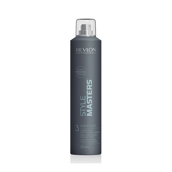 Revlon Style Masters Pure Styler Strong Hold Non-Aerosol Hairspray 325ml