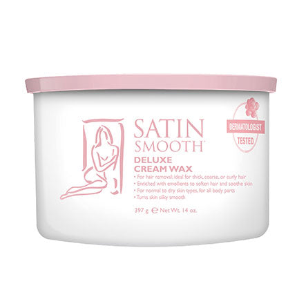 Satin Smooth Deluxe Cream Wax 14oz