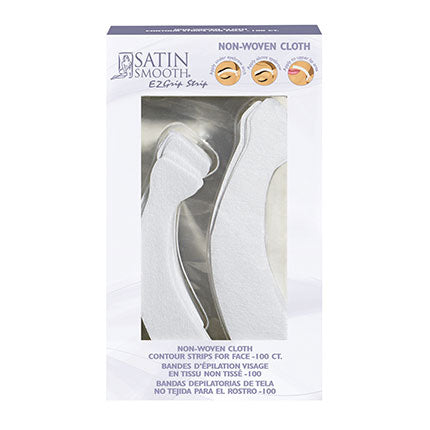 Satin Smooth Non-Woven Cloth Contour Strips for Face SSWA14