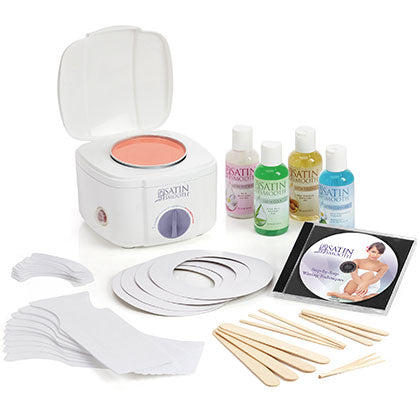 Satin Smooth Professional Single Wax Warmer Wax Kit SSW12CKIT