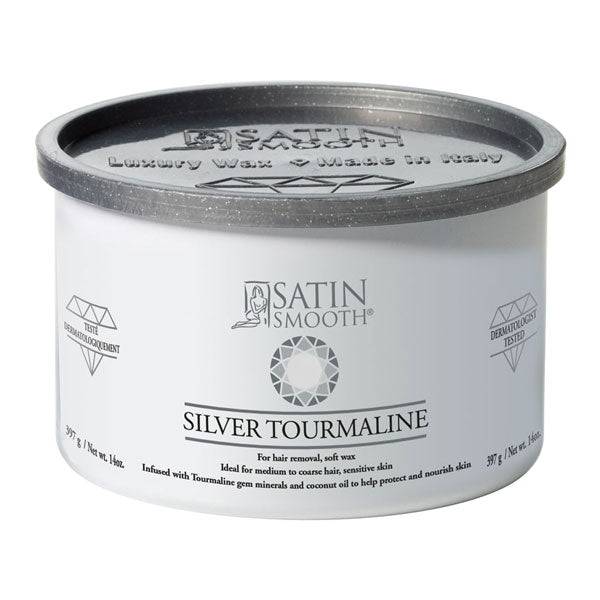 Satin Smooth Silver Tourmaline Cream Wax 14oz