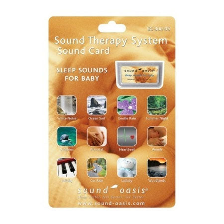 Sound Oasis Sounds for Baby Sound Card SC-300-05