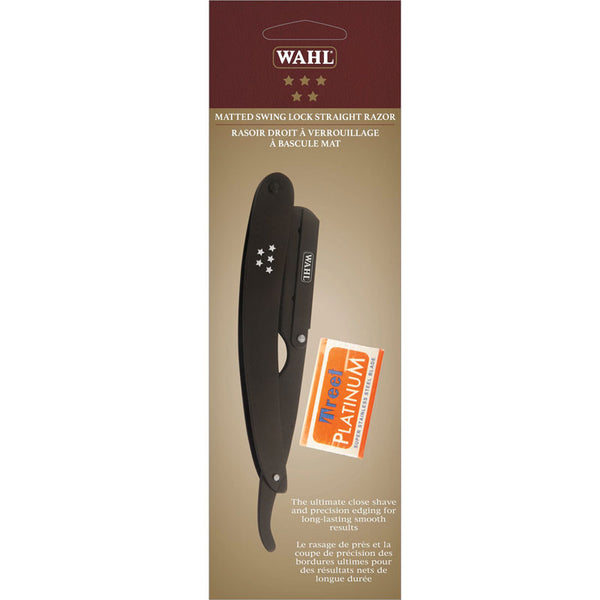 Wahl Matted Swing Lock Straight Razor #56751