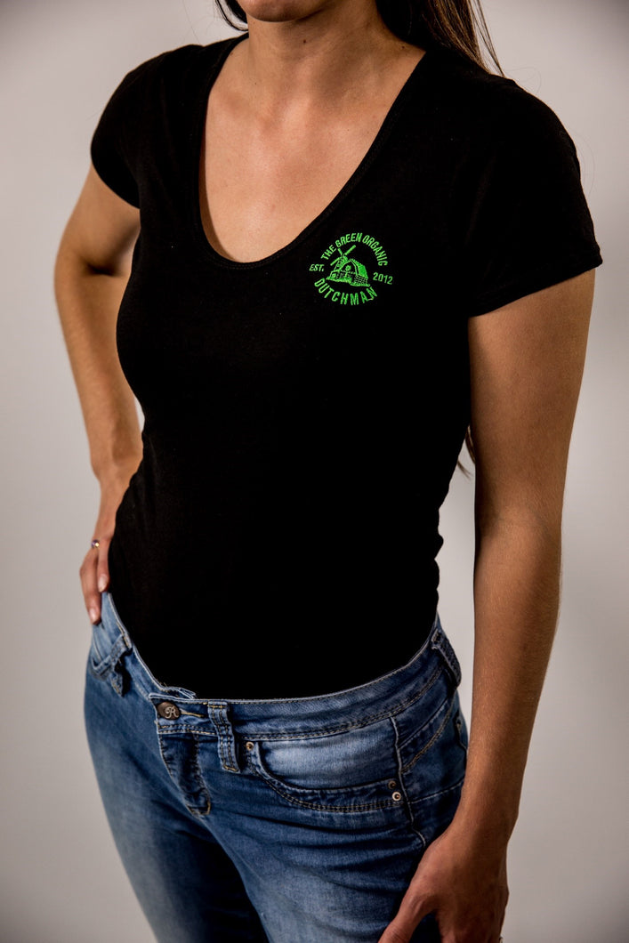 TGOD Ladies Bamboo Stretch Organic Tri-Blend Tee Shirt
