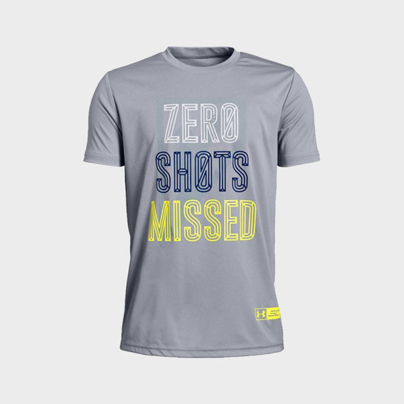 Sc30 Zero Shots Missed Ss 1329112-011 T-Shirt-Grey