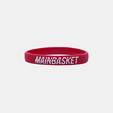 WRISTBAND STRIPE-DEFENSE - MAROON