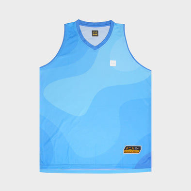 AZA COURT FLUID JERSEY - BLUE