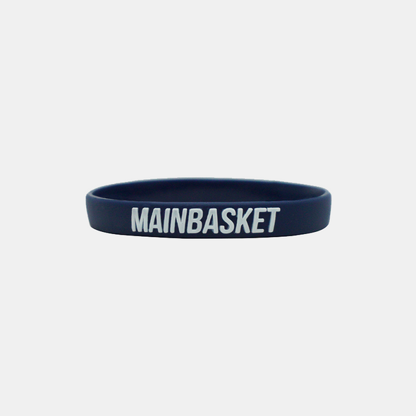 WRISTBAND BASKET INDONESIA SELAMANYA - NAVY/WHITE