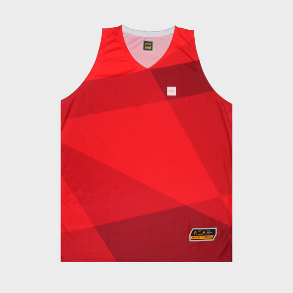 AZA OUTLIER VECTOR JERSEY - RED