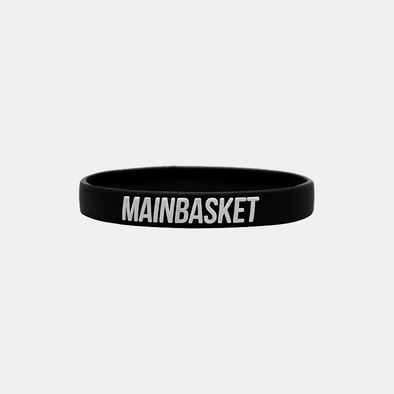 Wristband Basket Indonesia Selamanya - Black / White