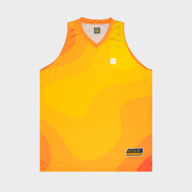 AZA Court Sunburst Jersey - Orange