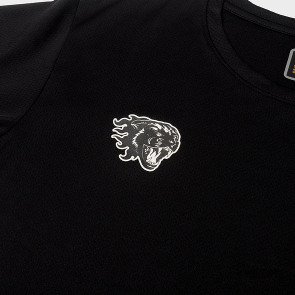 AZA Interval Panther T-Shirt - Black